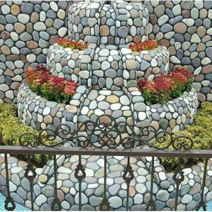 Stone recycling is a way to reuse natural stone